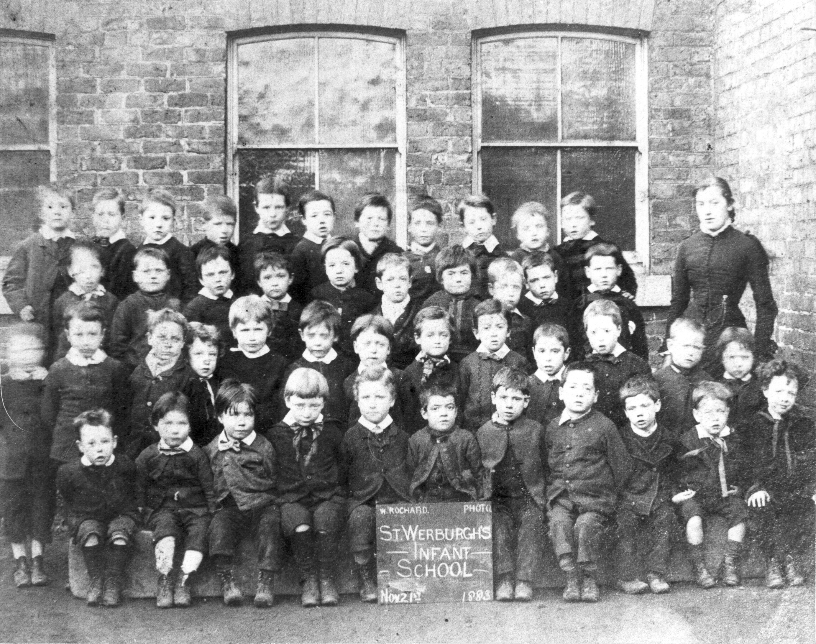 Infant School class 1883