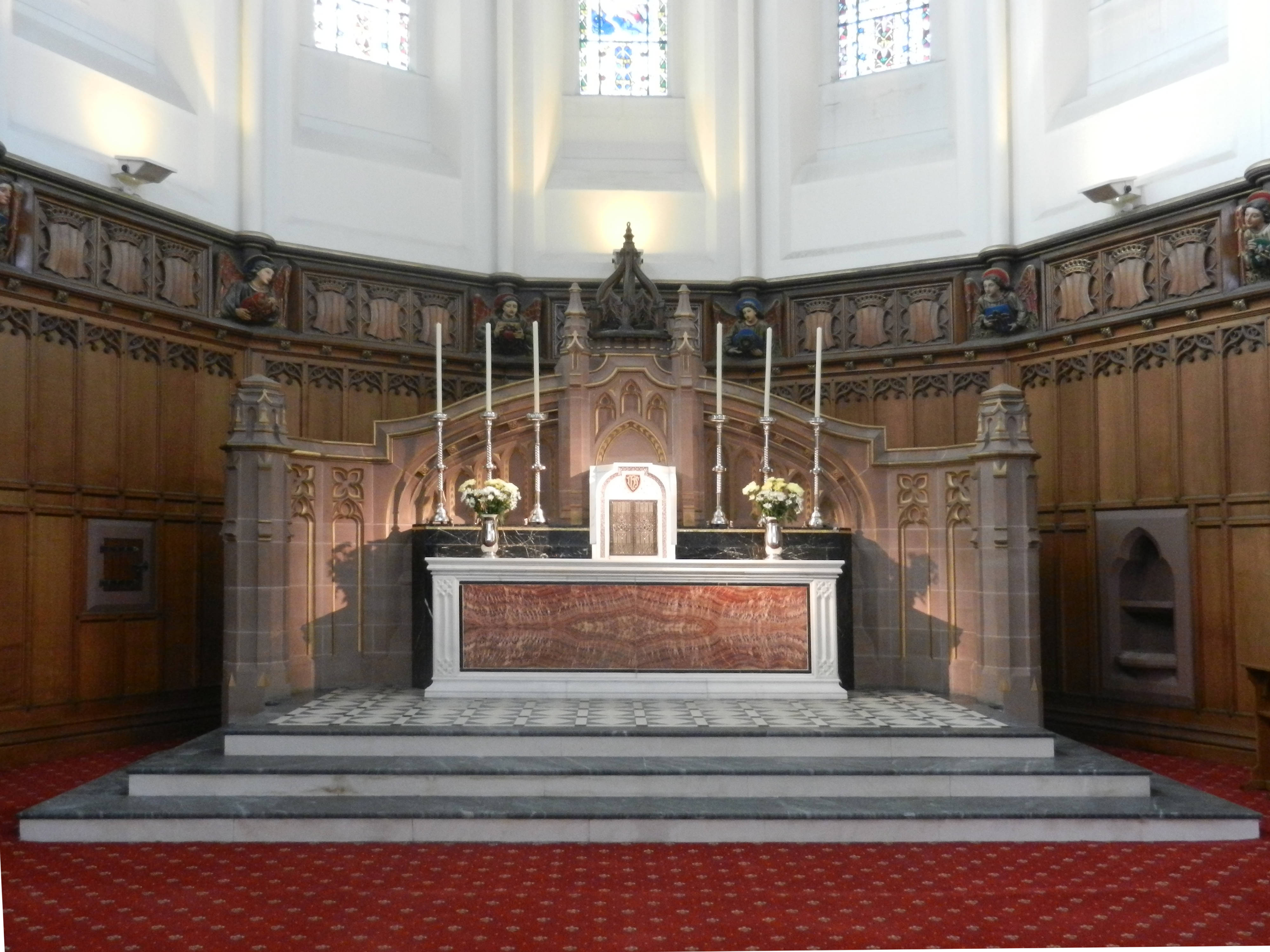 The old High Altar
